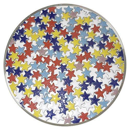 New Hampshire Craftworks Mosaic Star Tile Assortment - Multi Colors (Tile Assortment)