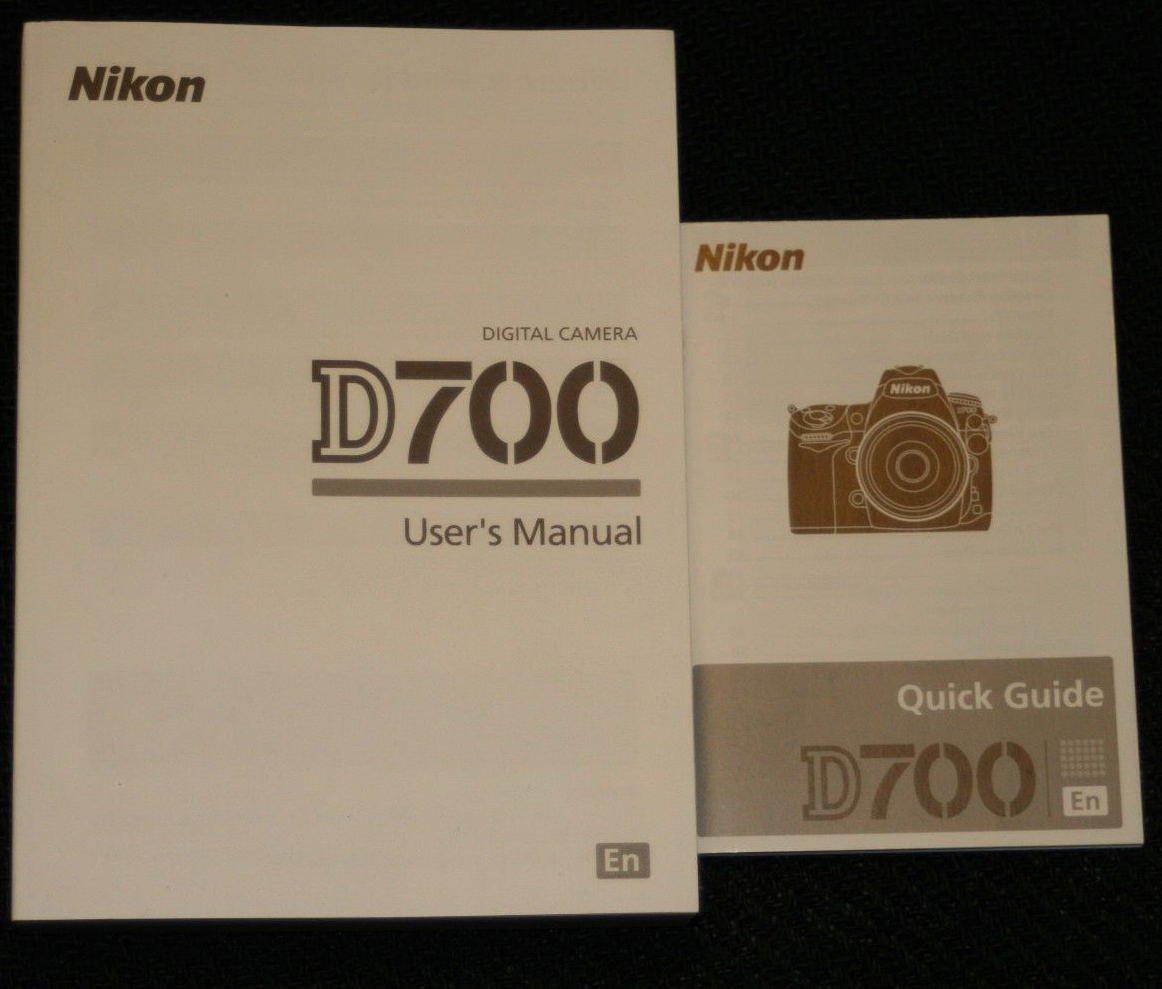 ORIGINAL INSTRUCTION MANUAL Nikon D700 User's Manual: NIKON: Amazon