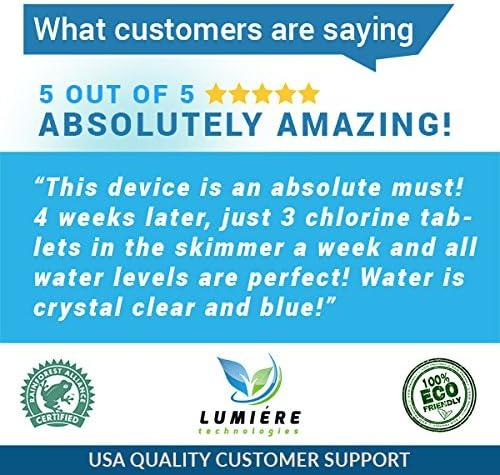 Ionizador de piscina solar: mata algas con un 80% menos de cloro y ...