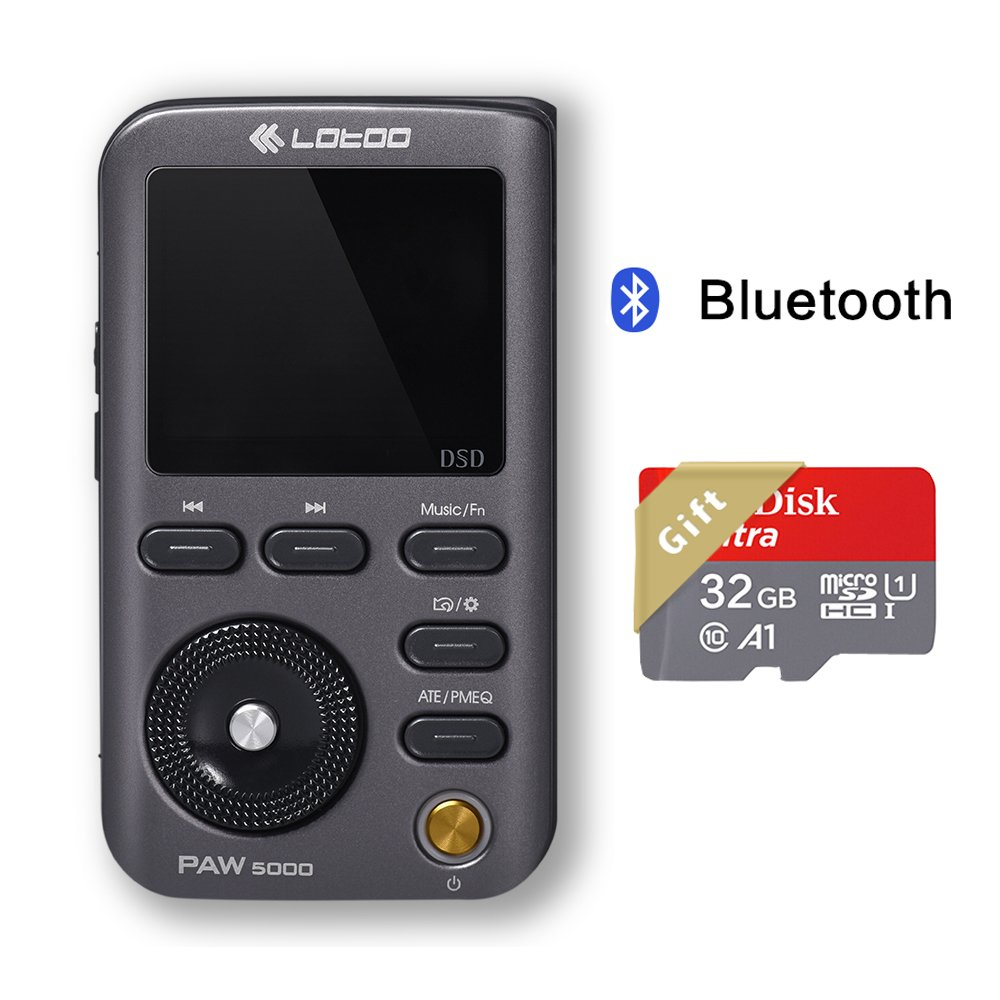 Details about Lotoo PAW 5000 Digital Audio HiFi High Resolution Lossless  Music Player with