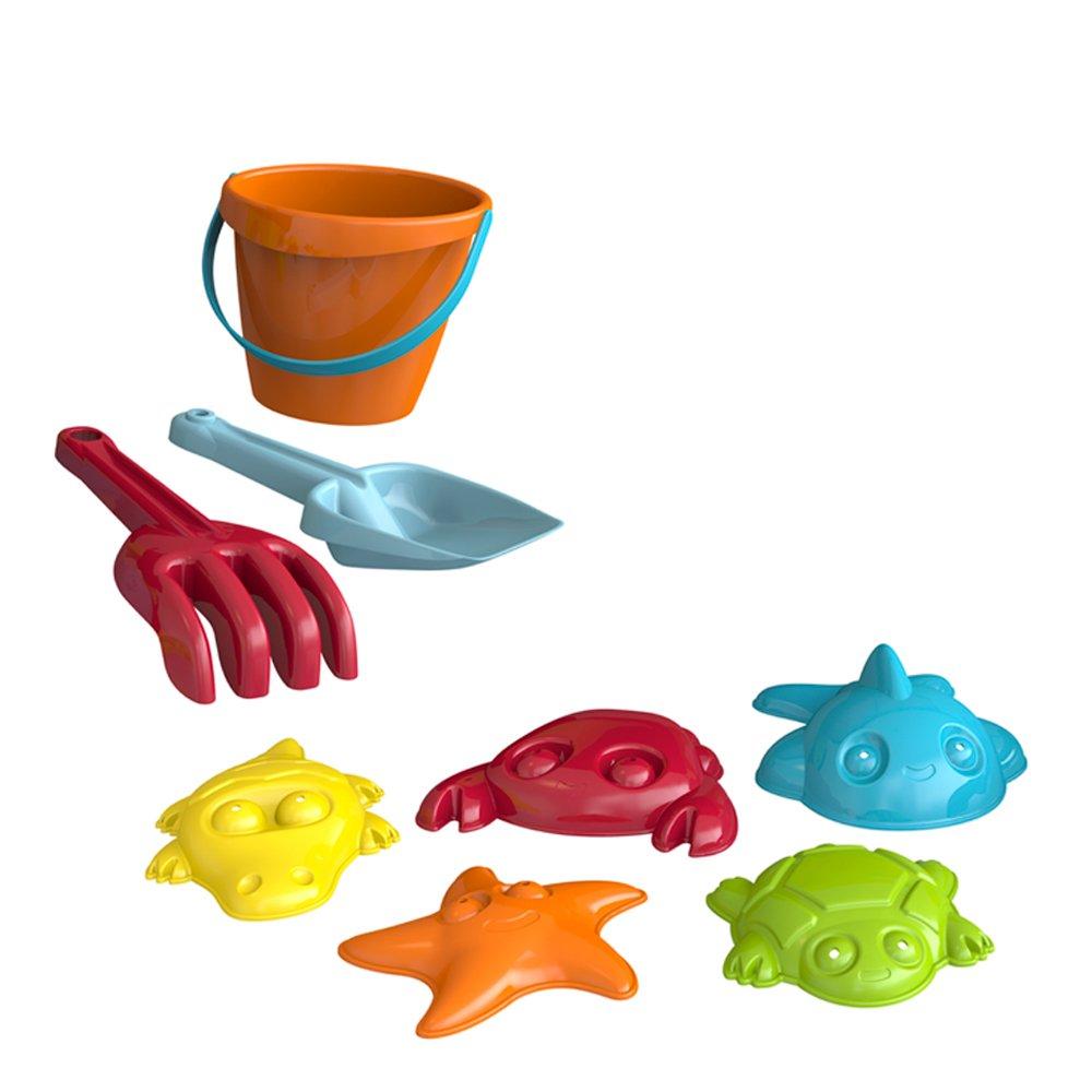 ColorBaby Set de Playa Color Beach con Carretilla de Juguete (43507: Amazon.es: Juguetes y juegos