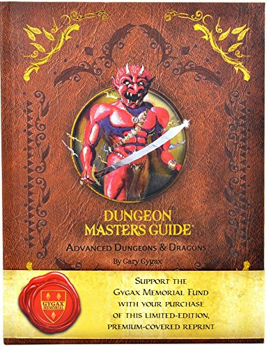 D&D 1st Edition Dungeon Masters Guide Reprint