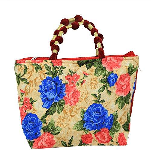 Kuber industrias bolso de mano mujer en elegante diseño (diseño de flores)–ki3407