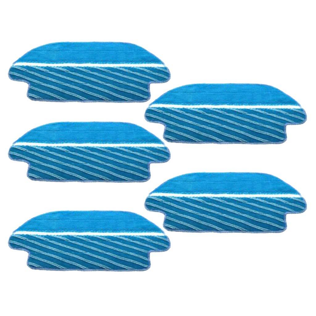 joyMerit 5pcs Cepillo de Piso Alfombra Aspiradora Rob/ótica Piezas de Repuesto Aptas para Conga 3490