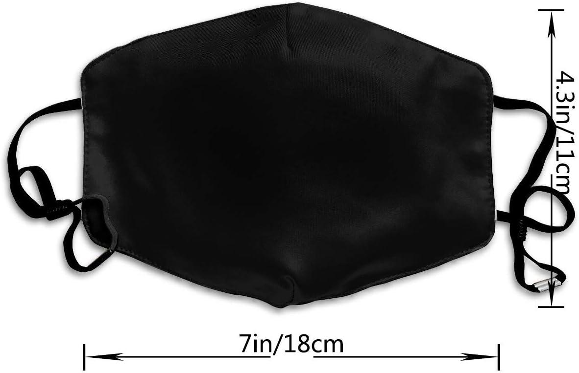 Couvre-bouche lavable r/églable de mode chaude unisexe couverture de visage plage dr/ôle bouledogue fran/çais du br/ésil