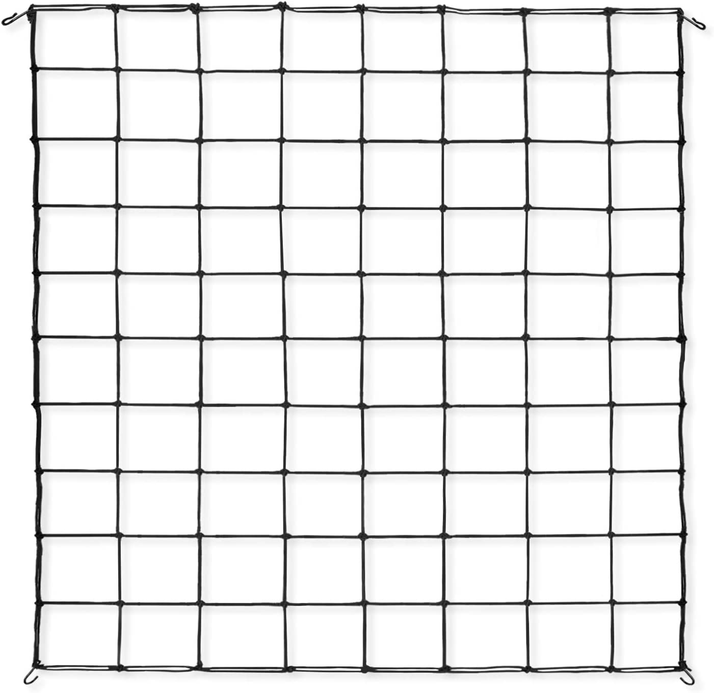 VIVOSUN 1-Pack 3x4FT Elastic Trellis Netting with Hooks for Grow Tents