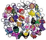 Bubble Guppies Keychains 4 Pcs Set #1