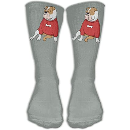7dce93a25b1 Image Unavailable. Image not available for. Color  French Bulldog Gray  Classics Personalized Socks Sport ...
