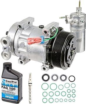 AC Compressor w// A//C Repair Kit For Chevy W3500 W4500 W5500 Tiltmaster