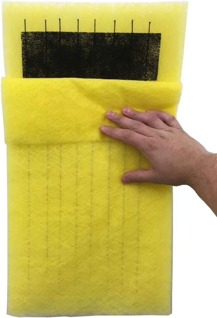 Y Clean Air Direct Pads compatible with the Dynamic P1000 Filter 24 X 30 4 Changes