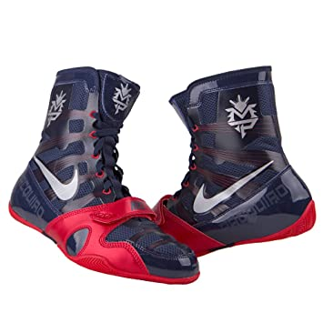 wholesale dealer fdc2d f12ea Nike HyperKO Boxing Shoes - MP - Blue Red - Size 11, Foot Gear - Amazon  Canada