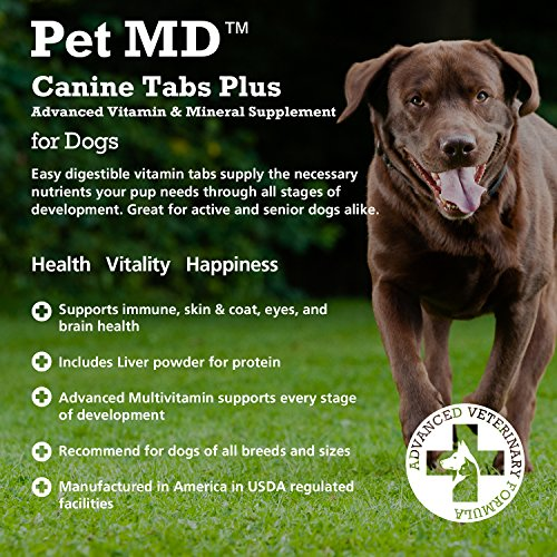 Pictures of Pet MD - Canine Tabs Plus 365 Count - 5