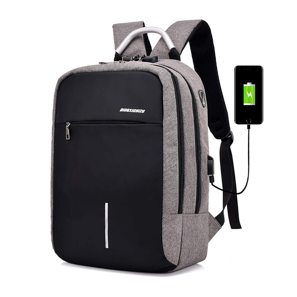 0e1f205551d4 Amazon.com  Outdoor Smart Backpack - USB Phone Charging Laptop Waterproof  Backpack - Men s and Women s Outdoor Business Casual Sports Backpack.