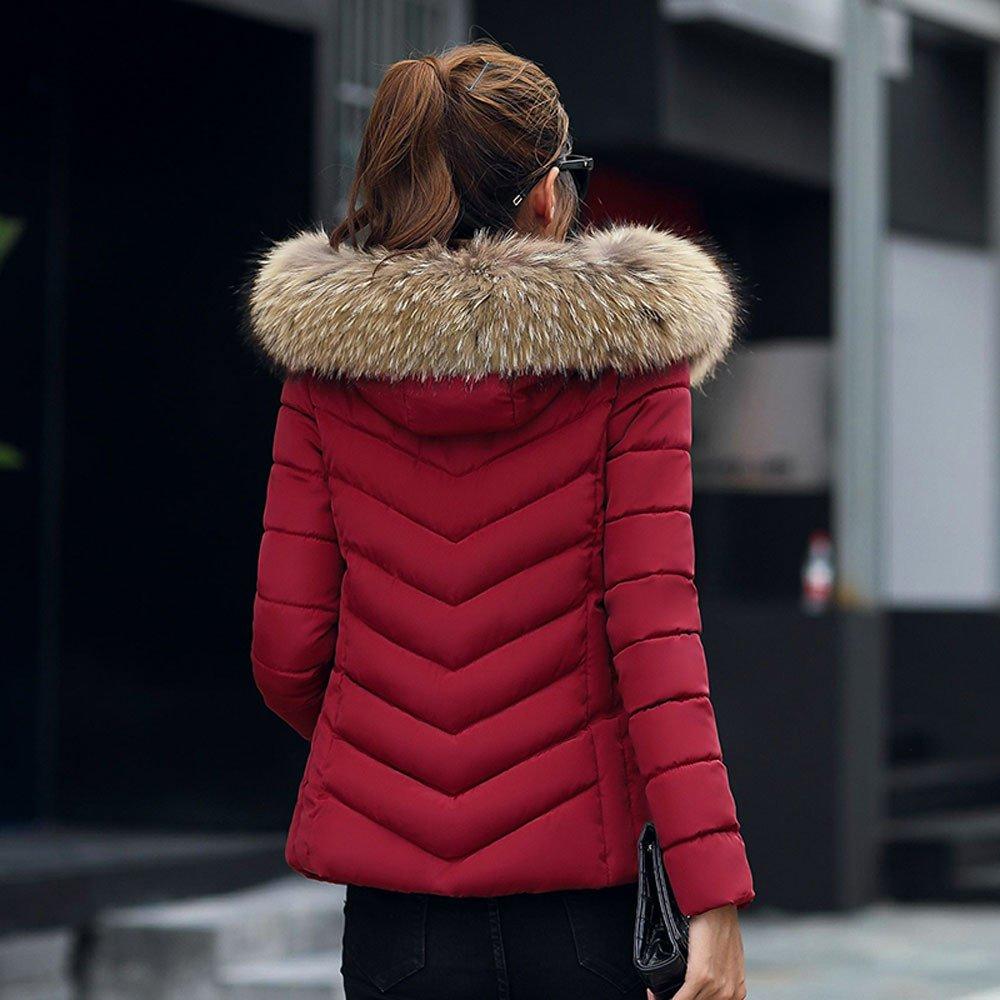 Vino Rosso,L Beikoard Vestiti Donna Invernali,Pantalone Cappotto Sottile Cappotto Sottile Cappotto Invernale Casual Donna Moda Solido