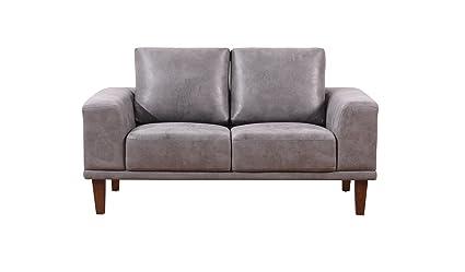 Amazon.com: Container Furniture Direct Church Loveseat Sofa ...
