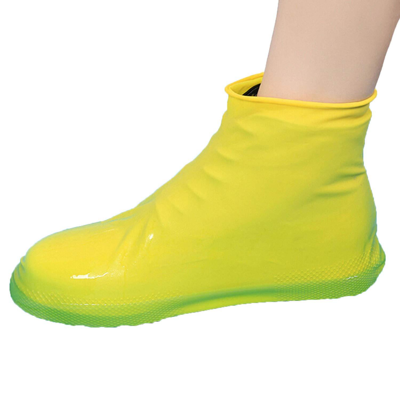 8e0aa74634c9c Amazon.com | Reusable Latex Waterproof Rain Shoes Covers Slip ...