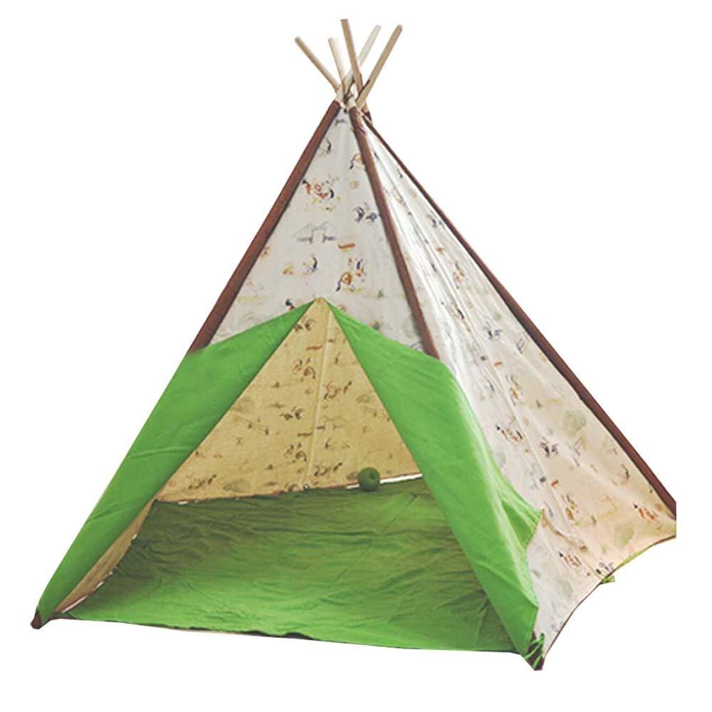 自由の愛@子供の インド スタイル テント環境子供の おもちゃ大きな テント屋内と屋外ゲーム テント B01G6U6C3G