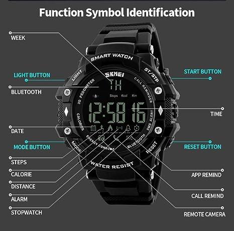 Reloj Inteligente Versión, Btruely Herren Smartwatch Android ...