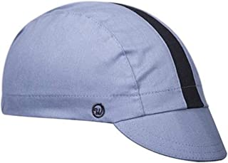 product image for Walz Caps Cool River/Black Cotton 3-Panel Cycling Cap
