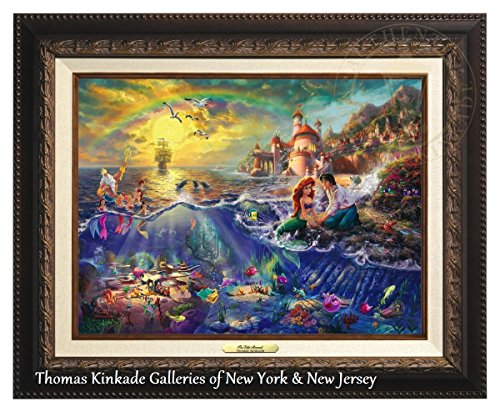 Thomas Kinkade The Little Mermaid 12