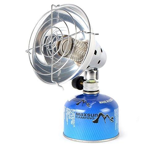 LYCOS3 Estufa de Gas Ultraligera para Camping con calefacción, portátil, Multifuncional, Equipo de
