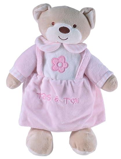 Tris&Ton Peluche osito infantil bebé niño niña, oso peluche 30 cm suave felpa modelo Osito