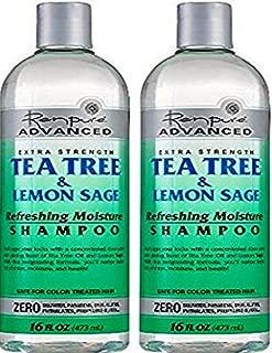 product image for Renpure Advanced Extra Strength Tea Tree & Lemon Sage Refreshing Moisture Shampoo 16oz (Pack of 2) Renpure