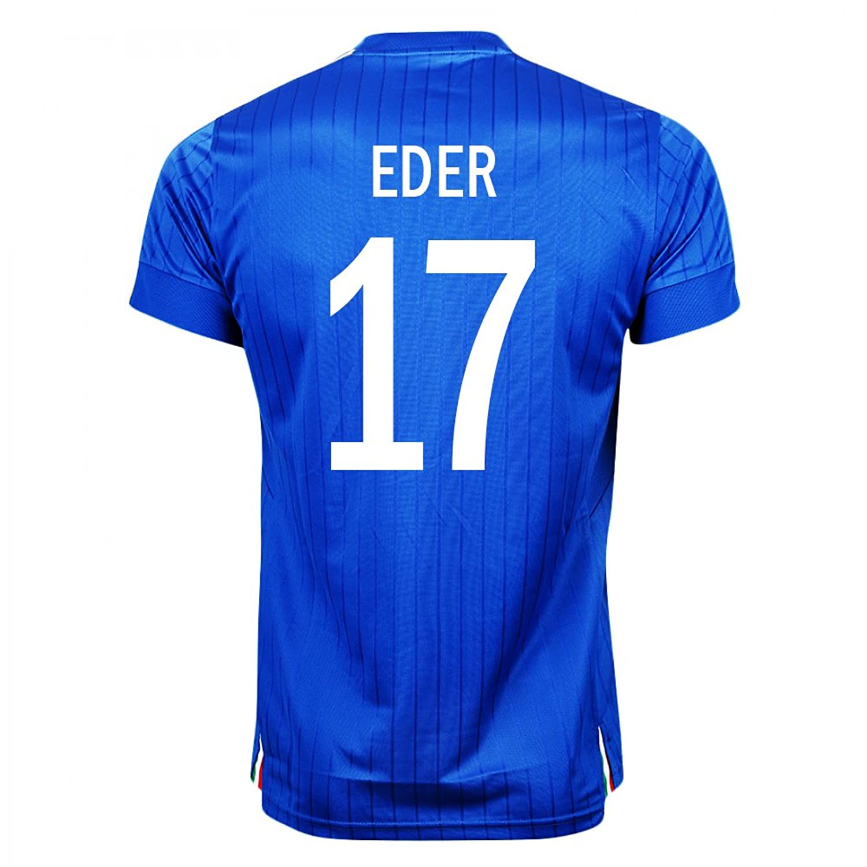 Puma Eder # 17 Italy Home Soccer Jersey S / S Euro 2016 B01H7NPWGEM
