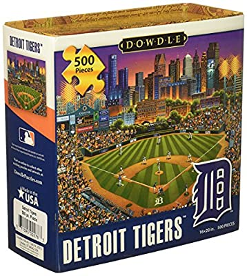 Jigsaw Puzzle - Detroit Tigers 500 Pc By Dowdle Folk Art