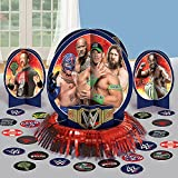 "Amscan Grand Slammin WWE Birthday Party Table Decorating Kit  (23 Pack), 12.5"", Multicolor"