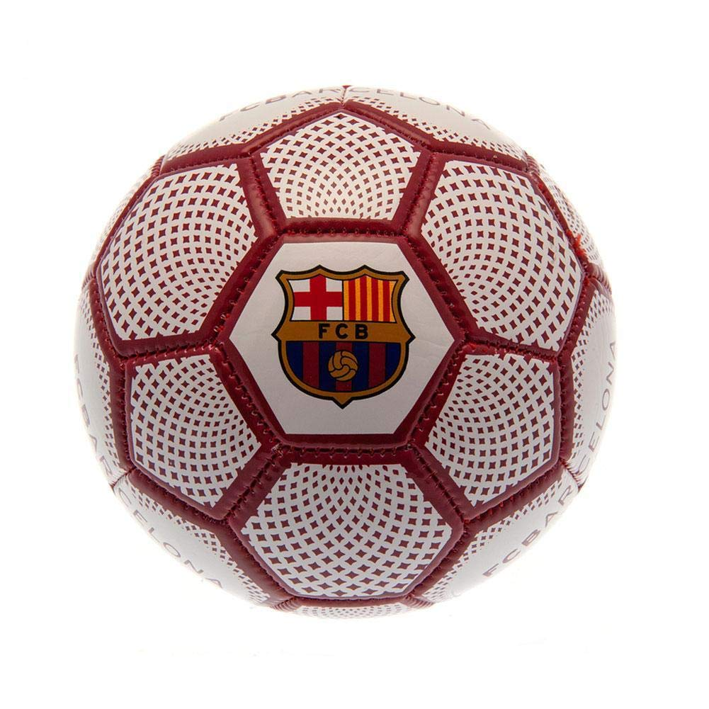 FCB FC Barcelona - Balón mini (Talla Única) (Blanco/Rojo): Amazon ...