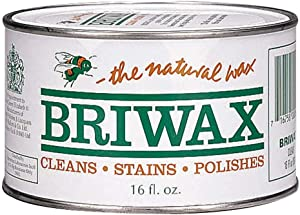 Briwax Furniture Wax Polish-Clear