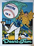 Pearl jam seattle poster 2018 Ames brothers safeco field mariners the home shows