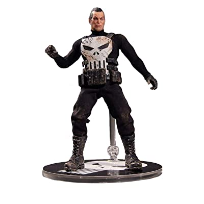 "Punisher Mezco Toyz One:12 Collective The 6.5"" Action Figure: Toys & Games"
