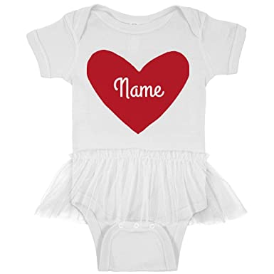 Amazon Com Custom Valentine S Day Outfit Heart Infant Rabbit Skins