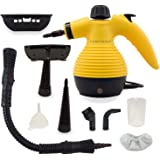 Handheld Multi function Steam Cleaner with Safety Lock for Stains, Carpet, Car Removals UK PLUG