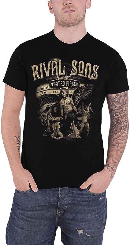 NEW /& OFFICIAL! Rival Sons /'Teatro Fiasco Tour 2017/' T-Shirt