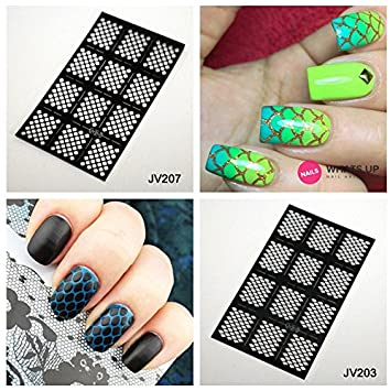 Amazon.com Stickers \u0026 Decals , Mermaid Tail Nail Art Vinyl