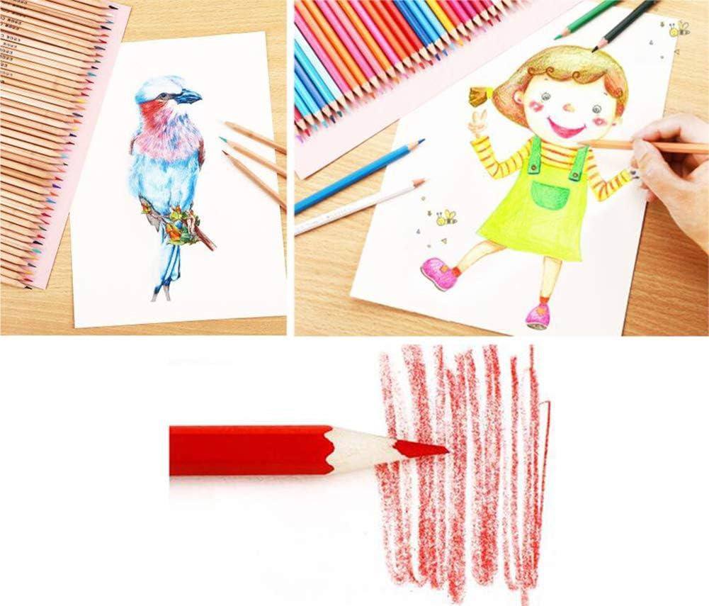 Colored Pencils Assorted Colors Adult//Kids Coloring Art Supplies Colored Pencil Set 24 Colors #2