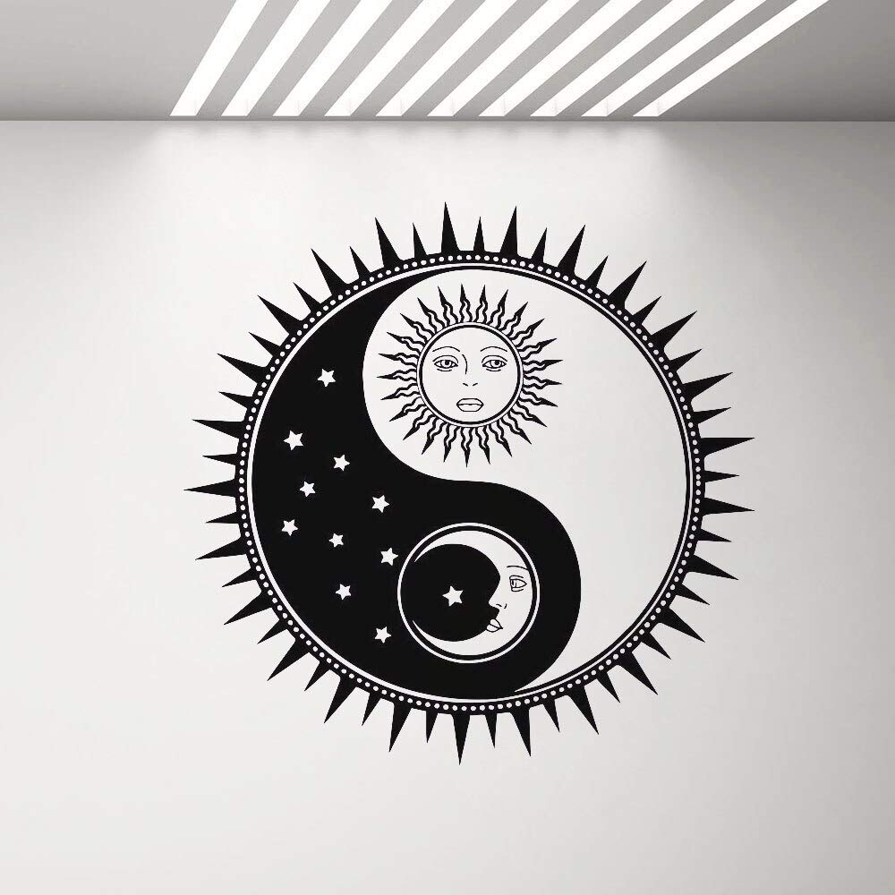 Relatividad Yin y Yang Sala de Estar Interior Vinilo removible ...