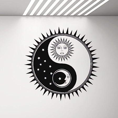 YuanMinglu Yin y Yang relatividad Sala de Estar Interior Vinilo ...
