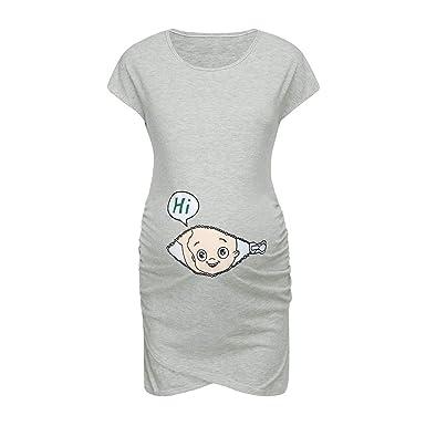 Amazon.com: Vestido sin mangas para mujer, con estampado de ...