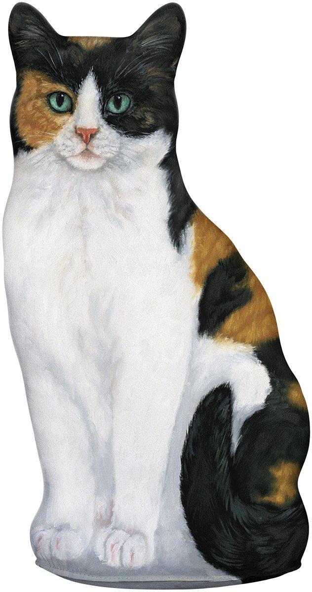 Fiddler's Elbow Calico Cat Door stop, Decorative Door Stopper, Interior, Cat Doorstop, Gift For Calico Cat Lovers