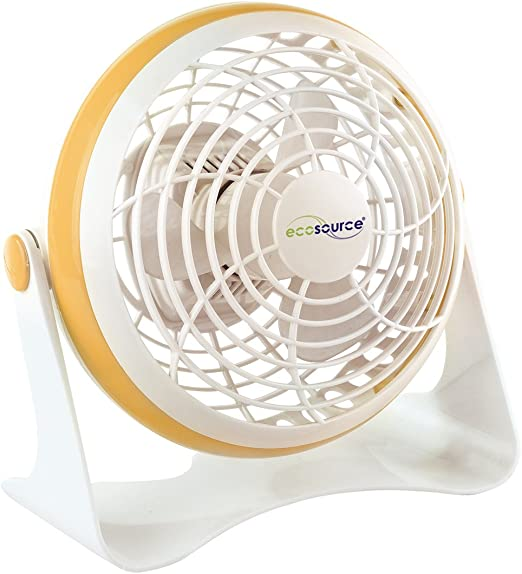 Ecosource 231026 - Ventilador con pie (bajo consumo, 5 W, 150 mm ...