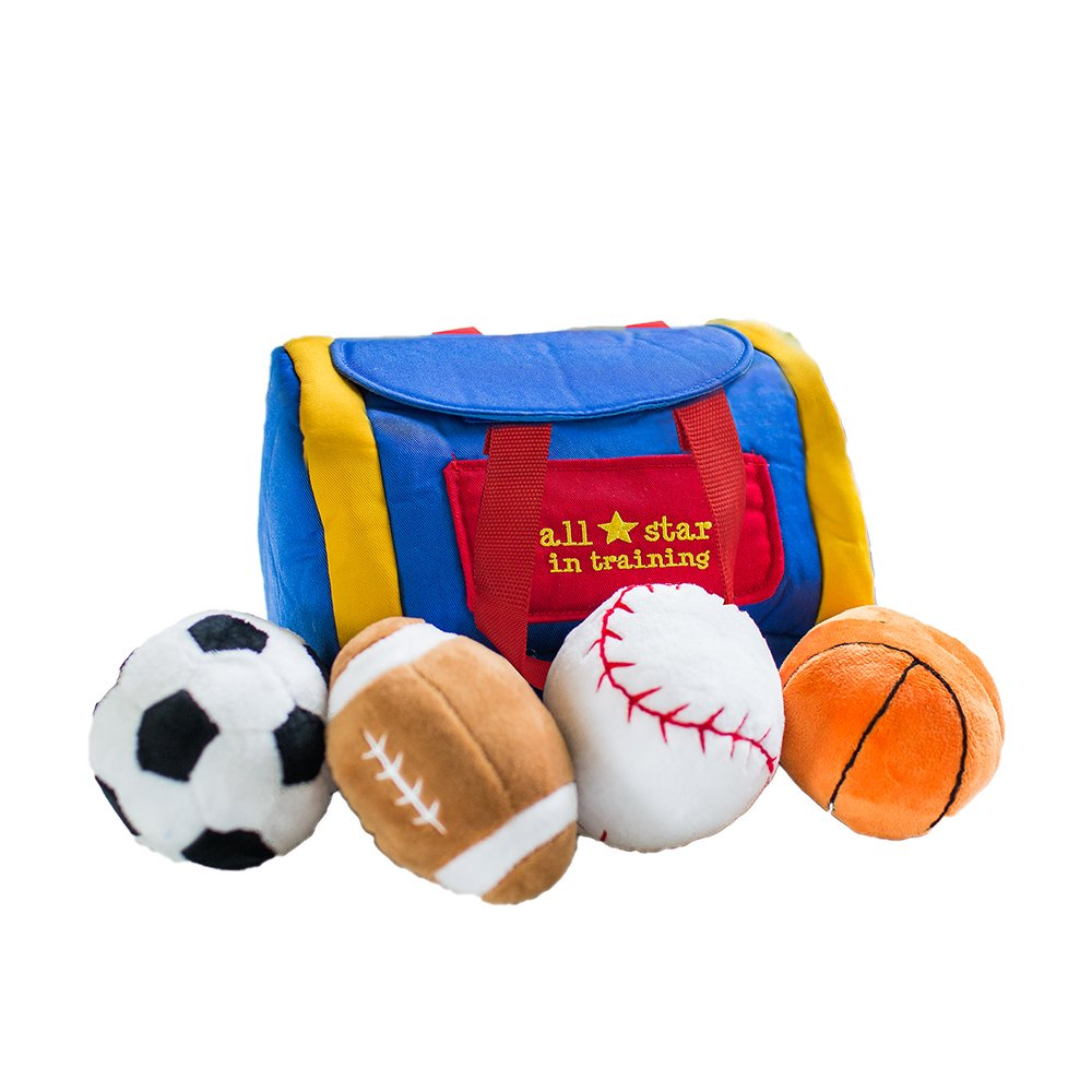 All Star in Training Baby Sports Bag Toy