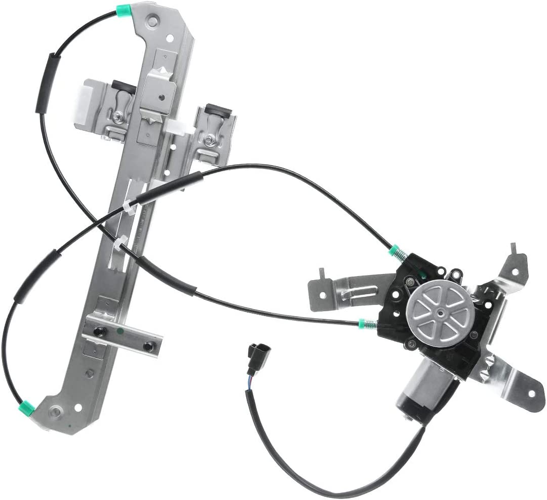 A-Premium Power Window Regulator and Motor Assembly Replacement for Chevrolet Tahoe GMC Yukon 2000-2006 Cadillac Escalade Rear Left Driver Side