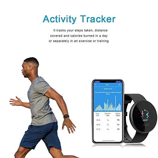 BOZLUN Smart Watch for Android Phones and iPhones, Waterproof Smartwatch Activity Fitness Tracker with Heart Rate Monitor Sleep Tracker Step Counter ...