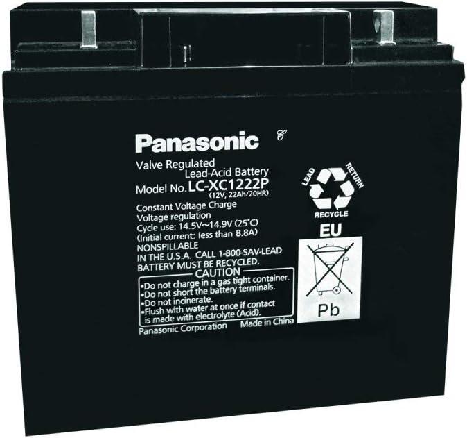Panasonic Bleiakku Lc Xc1222p 12v Lead Acid Elektronik