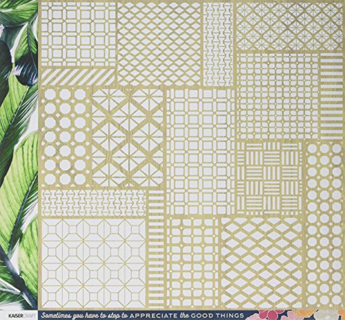 (Kaisercraft Lush Havana Nights Double-Sided Cardstock)