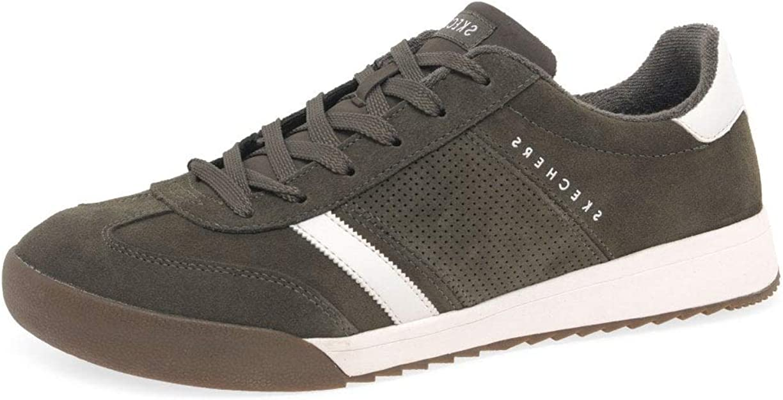 Milímetro Mojado volumen  Skechers Zinger VENTICH 52328 OLV - Zapatillas para hombre, color Verde,  talla 45.5 EU: Amazon.es: Zapatos y complementos
